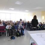 74 Kinder der Klassenstufe 3/4 nahmen am Wettbewerb teil.
