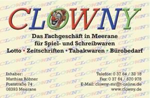 Clowny_Visitenkarte